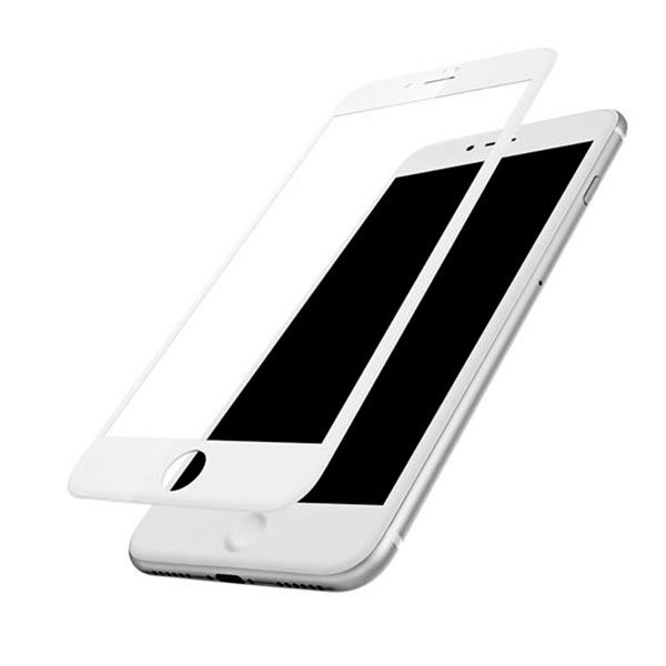 Защитное стекло Baseus 0.2mm Tempered Glass для iPhone 7 Plus Белое - Изображение 36704