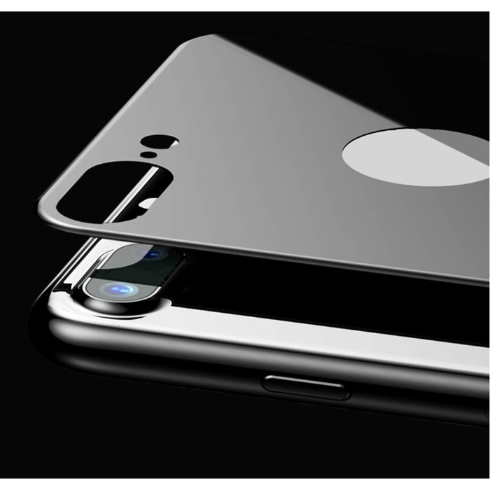 Защитное стекло Baseus 3D Silk-Screen Back для iPhone 7 Plus Черное - Изображение 36900