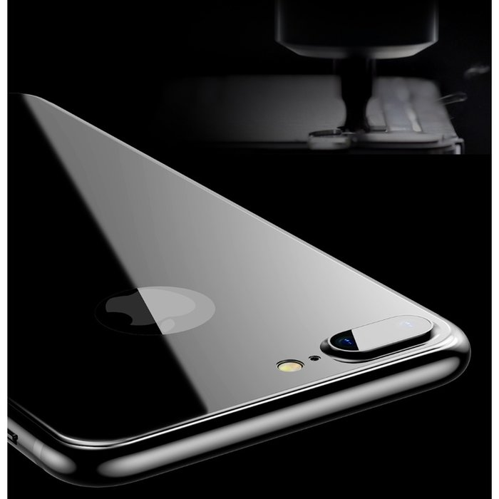 Защитное стекло Baseus 3D Silk-Screen Back для iPhone 7 Plus Черное - Изображение 36902