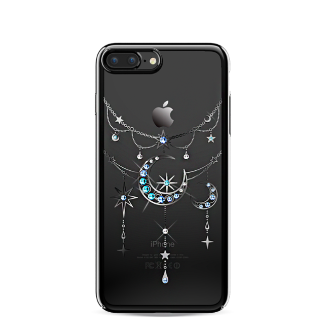 Чехол накладка Swarovski Kingxbar Twinkling Moon Black для iPhone 7 Plus Черный - Изображение 8295