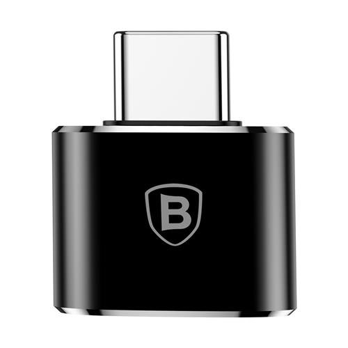 Переходник Baseus Adapter Converter USB - Type-C Черный - Изображение 40186