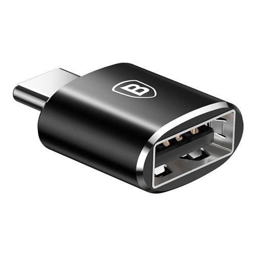 Переходник Baseus Adapter Converter USB - Type-C Черный - Изображение 40188