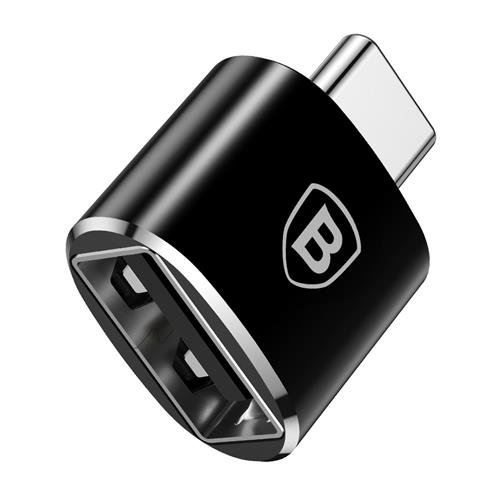 Переходник Baseus Adapter Converter USB - Type-C Черный - Изображение 40194