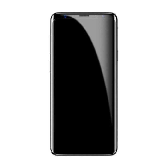 Защитное стекло Baseus 0.3mm Tempered Glass для Samsung Galaxy S9 Чёрное - Изображение 43866
