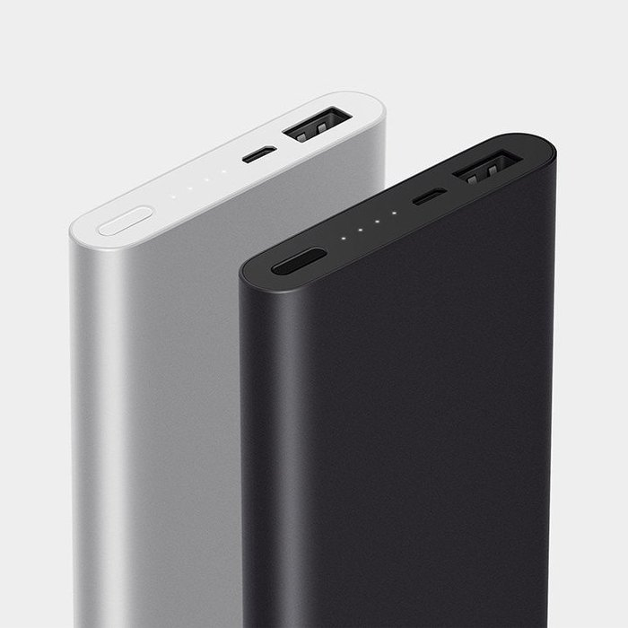Внешний аккумулятор Power Bank Xiaomi Mi 10000 mAh v.2 Серебро - Изображение 10521