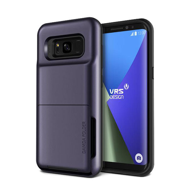 Чехол накладка VRS Design Damda Folder для Samsung Galaxy S8 Plus Фиолетовый - Изображение 103168