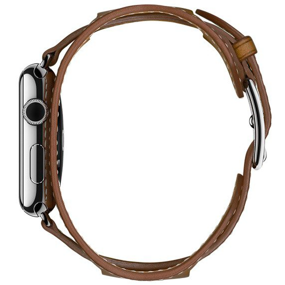 Ремешок кожаный HM Style Cuff для Apple Watch 2 / 1 (42mm) Зеленый - Изображение 11465