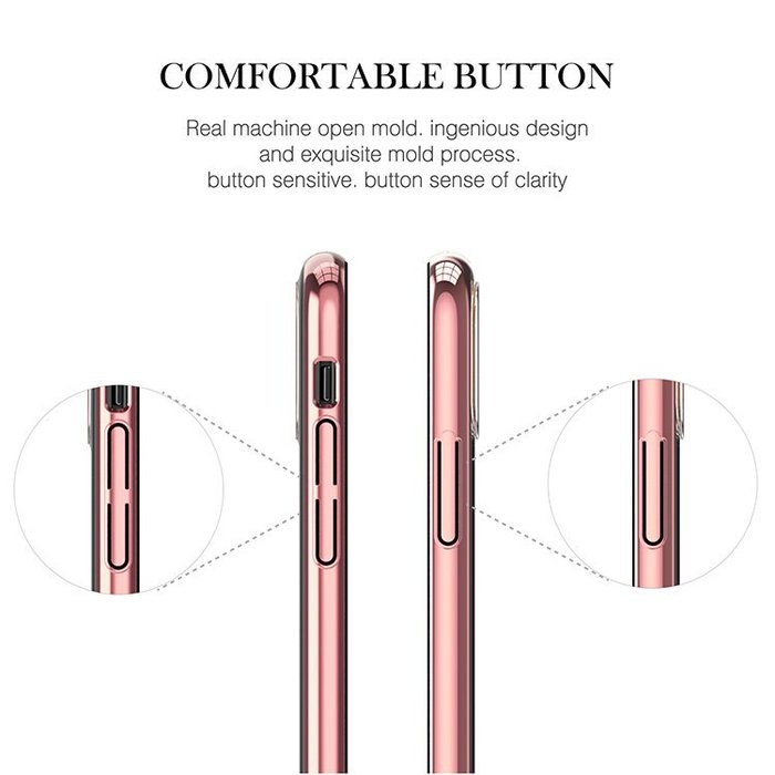 Чехол накладка Swarovski Kingxbar Wish Series для iPhone X Черный - Изображение 12207