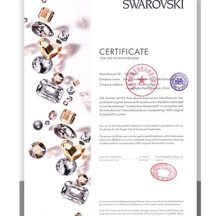 Чехол накладка Swarovski Kingxbar Wish Series для iPhone X Черный - Изображение 12215