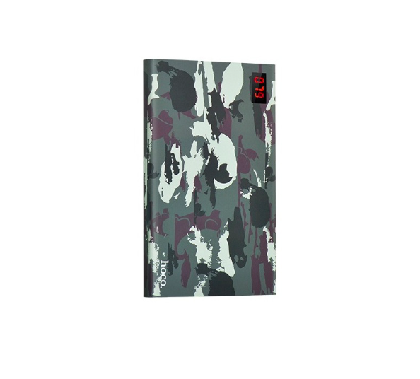 Внешний аккумулятор Power Bank Hoco Camouflage 20000 mAh Зеленый - Изображение 13985