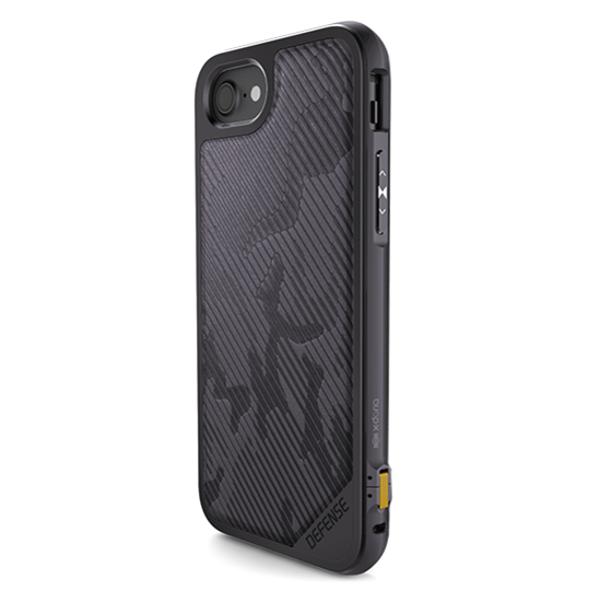 Чехол X-Doria Defence Lux для iPhone 8 / 7 Gray Desert Camo - Изображение 15779