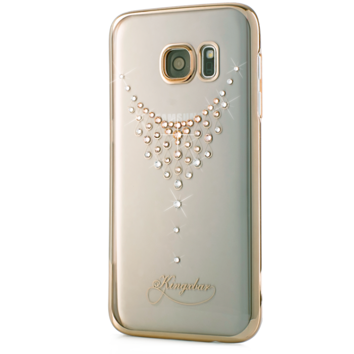 Чехол Swarovski Starry Sky Gold для Galaxy S7 Edge Dew - Изображение 22946