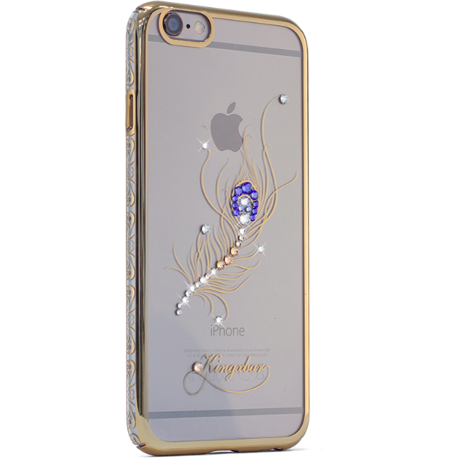 Чехол Swarovski Kingxbar Bloom Golden для iPhone 6S Перо - Изображение 7761