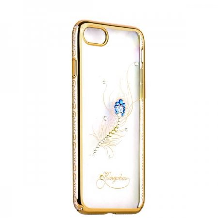 Чехол Swarovski Kingxbar Bloom Golden для iPhone 6S Перо - Изображение 7763