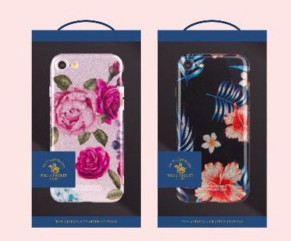 Чехол накладка Polo & Racquet Club Tropica Carnation Fever для iPhone 8 Розовый - Изображение 17661