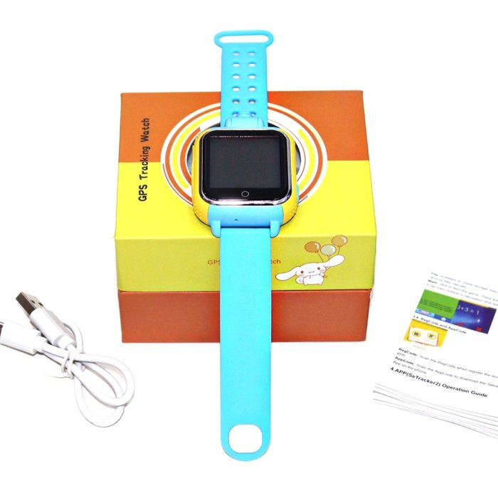 WONLEX Smart Baby Watch Q75 (GW1000) - Голубые - Изображение 30497