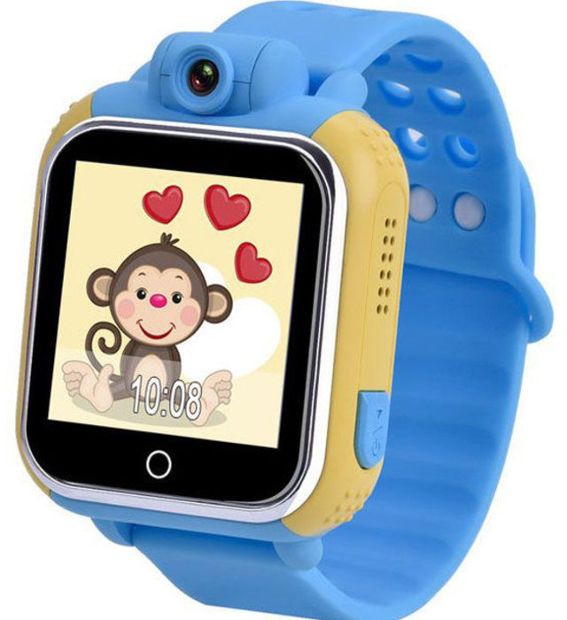 WONLEX Smart Baby Watch Q75 (GW1000) - Голубые - Изображение 30499