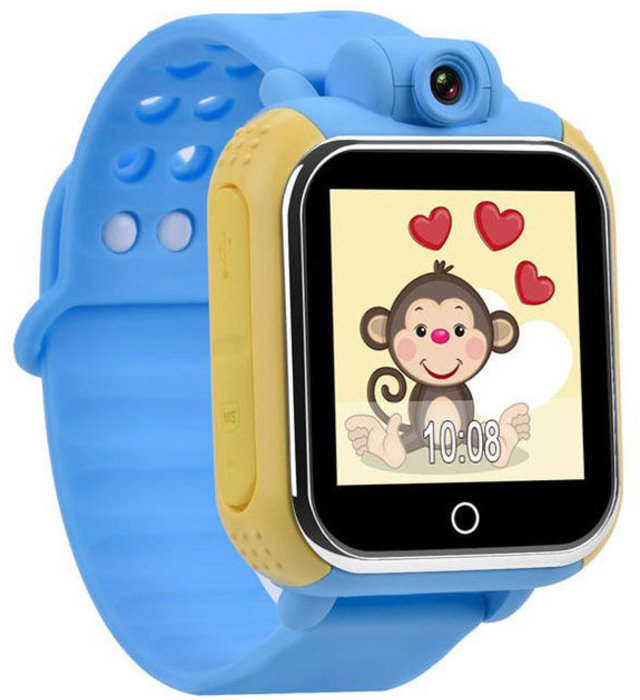 WONLEX Smart Baby Watch Q75 (GW1000) - Голубые - Изображение 30501