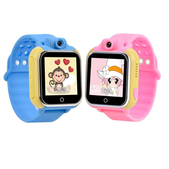 WONLEX Smart Baby Watch Q75 (GW1000) - Голубые - Изображение 30505