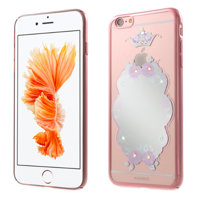 Чехол Swarovski Kingxbar Mirror с зеркалом для iPhone 6Plus/6S Plus Crown - Изображение 20319