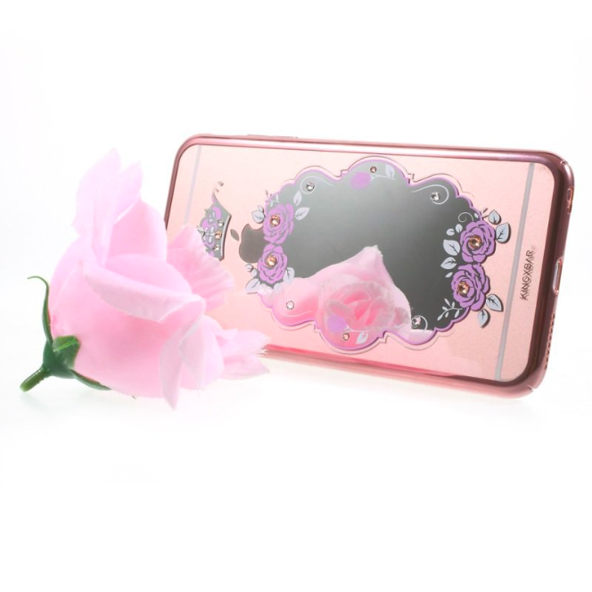 Чехол Swarovski Kingxbar Mirror с зеркалом для iPhone 6Plus/6S Plus Crown - Изображение 20321