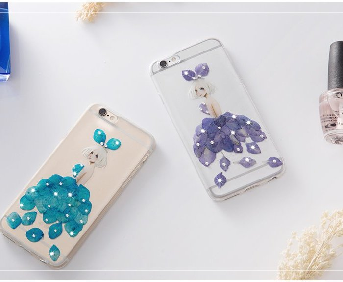 Чехол Joyroom Flower Diamond для iPhone 6 Plus/6S Plus Фиолетовый - Изображение 20451