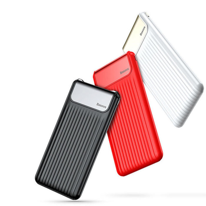Внешний аккумулятор Power Bank Baseus Thinnest Dual Output 10000 mAh Черный - Изображение 32943