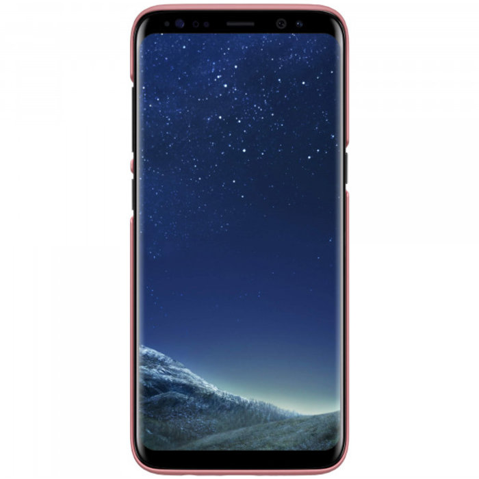 Чехол накладка Nillkin Frosted Shield для Samsung Galaxy S8 Plus Розовый - Изображение 104350