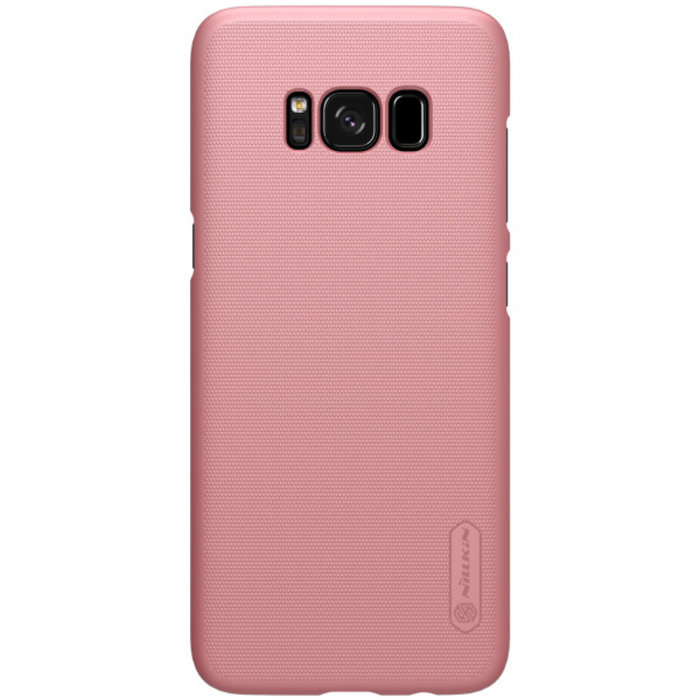 Чехол накладка Nillkin Frosted Shield для Samsung Galaxy S8 Plus Розовый - Изображение 104347