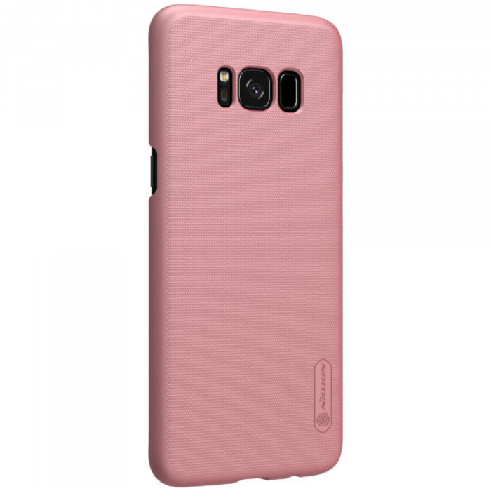 Чехол накладка Nillkin Frosted Shield для Samsung Galaxy S8 Plus Розовый - Изображение 104359