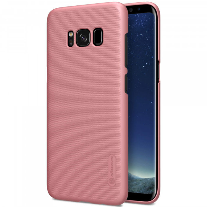 Чехол накладка Nillkin Frosted Shield для Samsung Galaxy S8 Plus Розовый - Изображение 104362
