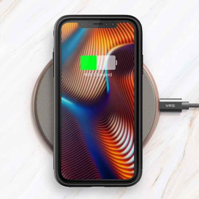 Чехол накладка VRS Design High Pro Shield для iPhone Xs Max Черный - Изображение 108126