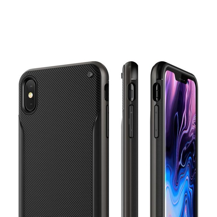 Чехол накладка VRS Design High Pro Shield для iPhone Xs Max Черный - Изображение 108111