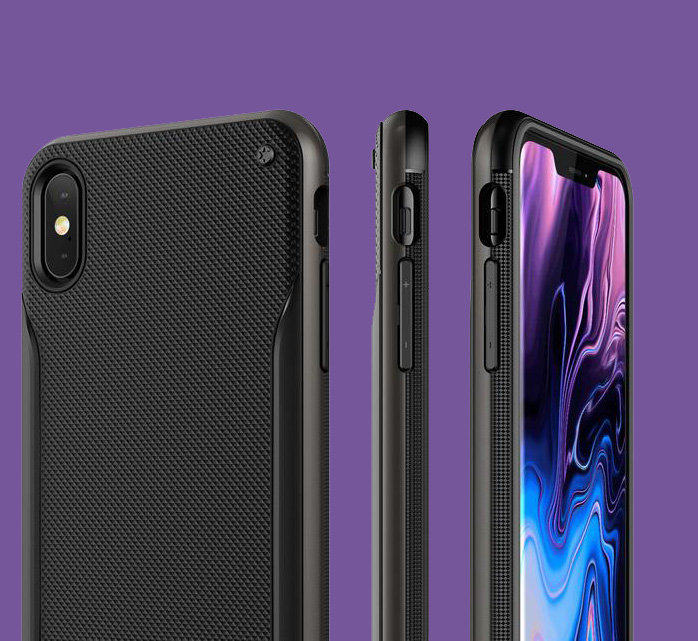 Чехол накладка VRS Design High Pro Shield для iPhone Xs Max Черный - Изображение 108129