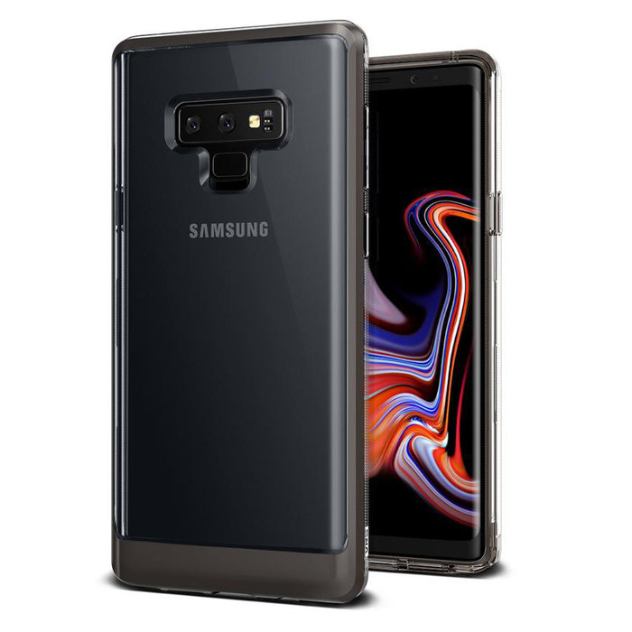 Чехол накладка VRS Design Crystal Bumper для Samsung Galaxy Note 9 Чёрный - Изображение 110122