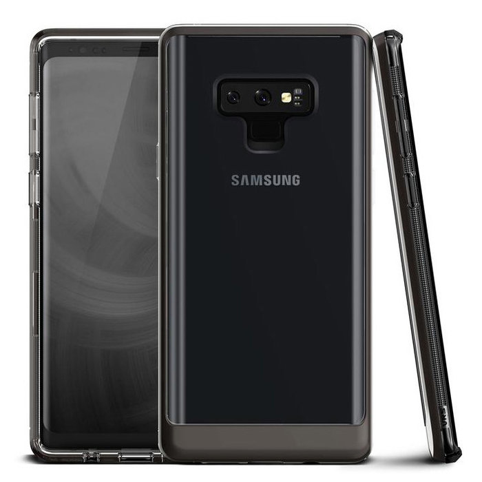 Чехол накладка VRS Design Crystal Bumper для Samsung Galaxy Note 9 Чёрный - Изображение 110137