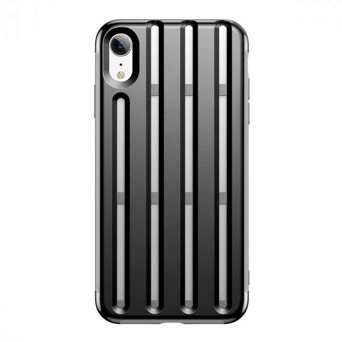 Чехол накладка Baseus Cycling Helmet Case для iPhone Xr Черный - Изображение 111373