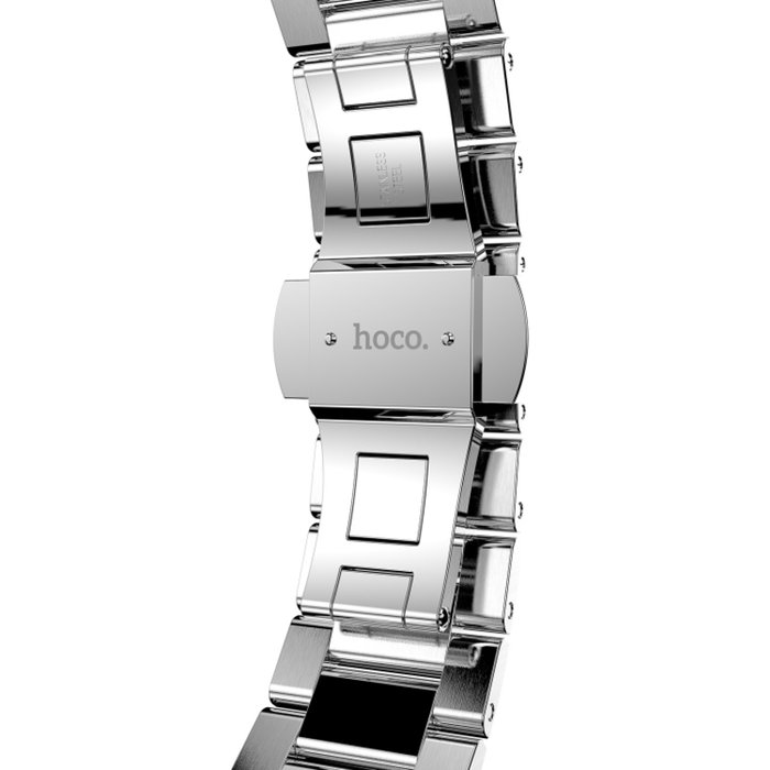 Браслет стальной HOCO Slim-Fit Steel 3 для Apple Watch 2 / 1 (42мм) Серебро - Изображение 11297