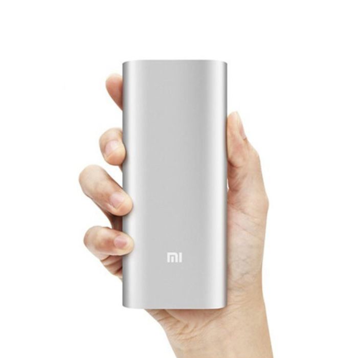 Внешний аккумулятор Power Bank Xiaomi Mi 20000 mAh v.2 Серебро - Изображение 12389