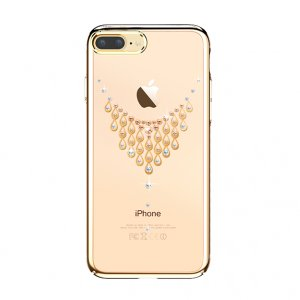 Чехол накладка Swarovski Kingxbar Starry Sky Gold Dew для iPhone 7 Plus Золото