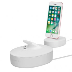 Док станция Momax U-Dock Lightning для iPhone Белая