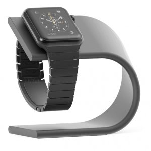 Док станция Special Stand для Apple Watch 1 / 2 / 3 Черная