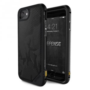 Чехол X-Doria Defence Lux для iPhone 8 / 7 Black Desert Camo