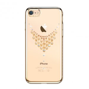 Чехол накладка Swarovski Kingxbar Starry Sky Gold Dew для iPhone 8 Золото