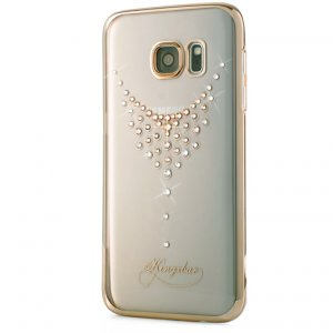 Чехол Swarovski Starry Sky Gold для Galaxy S7 Edge Dew