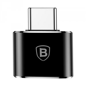 Переходник Baseus Adapter Converter USB - Type-C Черный