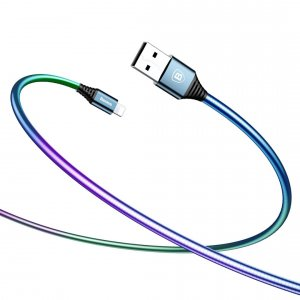 Переходник Baseus Discolor Lightning - USB 1м Графит