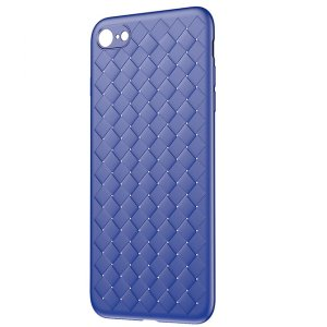 Чехол накладка Baseus BV Weaving Case для iPhone 8 Синий
