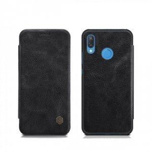 Чехол книжка Nillkin Qin Leather Case для Huawei P20 Lite Черный