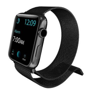 Ремешок X-Doria Mesh для Apple Watch 1 / 2 / 3 (42mm) Черный